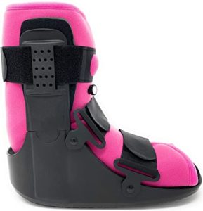 Best Shoes For 5th Metatarsal Fracture pink color for women