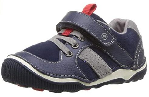 Stride Rite Kids' SRT Wes Casual Sneaker Wide shoes for toddler boy