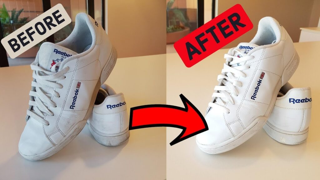 how to wash shoes at home