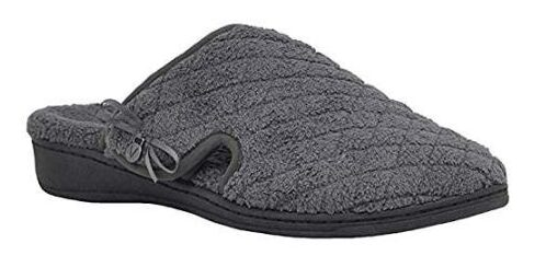 Vionic- Women's Adilyn Slipper- Ladies Adjustable and Orthotic Arch Support shoes for elders