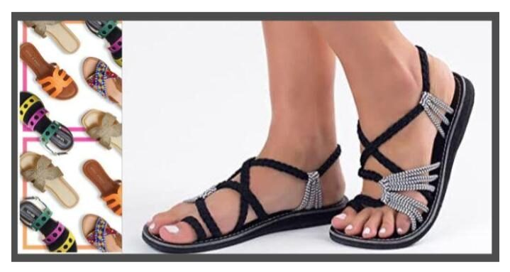 cute sandals with arch support for women flat-footed