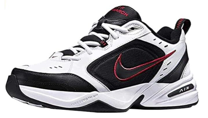 Nike white best shoes for body combat class