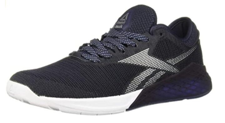 Reebok black best shoes for body combat class